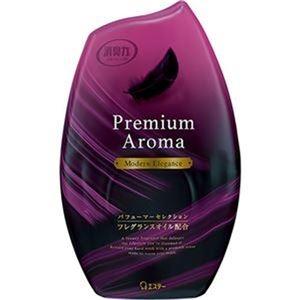 その他 (まとめ)エステー お部屋の消臭力 PremiumAroma モダンエレガンス 400ml 1個【×20セット】 ds-2305216