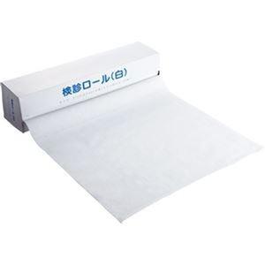 その他 (まとめ)カネモ商事 検診ロール370mm×36m ミシン目あり 白 KR-001 1本(120シート)【×20セット】 ds-2305735