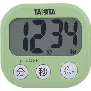 その他 (まとめ)タニタ でか見えタイマーピスタチオグリーン TD-384GR 1個【×20セット】 ds-2305919