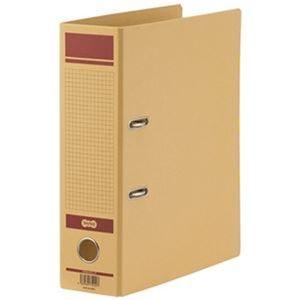その他 (まとめ)TANOSEE 保存用レバー式アーチファイルN A4タテ 背幅83mm 赤 1冊【×20セット】 ds-2306145