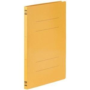 その他 (まとめ)TANOSEE フラットファイルPPラミネート表紙タイプ A4タテ 150枚収容 背幅17.5mm イエロー 1パック(10冊)【×20セット】 ds-2306272