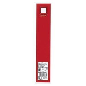 その他 (まとめ)コクヨ チューブファイル(エコツインR)用背見出し紙(カラータイプ)フ-E630・フ-RT630用 タテ303×ヨコ56mm 赤C-RT630R 1パック(20枚)【×20セット】 ds-2306330