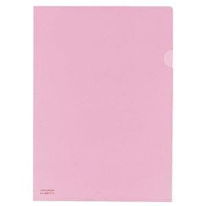 その他 (まとめ)コクヨ クリヤーホルダー(抗菌仕様)A4 ピンク フ-K750P 1セット(5枚)【×20セット】 ds-2306635