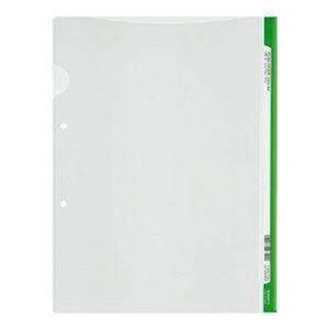 その他 (まとめ)コクヨ ファイリングホルダー<カラーバー> 2穴あき・ロング見出しカード付き A4 ライトグリーン フ-GHL750Lg 1セット(5冊)【×20セット】 ds-2306648