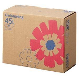 その他 (まとめ)TANOSEE ゴミ袋 コンパクト 透明45L BOXタイプ 1箱(110枚)【×10セット】 ds-2307513