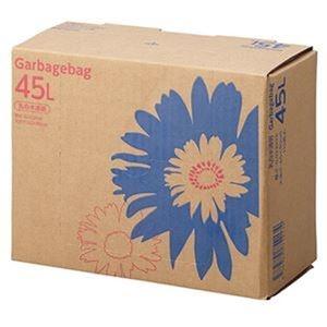 その他 (まとめ)TANOSEE ゴミ袋 コンパクト乳白半透明 45L BOXタイプ 1箱(110枚)【×10セット】 ds-2307514