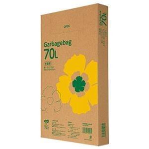 その他 (まとめ)TANOSEE ゴミ袋エコノミー 半透明 70L BOXタイプ 1箱(110枚)【×10セット】 ds-2307526