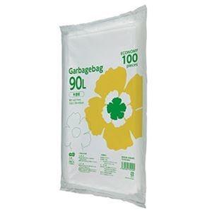 その他 (まとめ)TANOSEE ゴミ袋エコノミー 半透明 90L 1パック(100枚)【×10セット】 ds-2307532