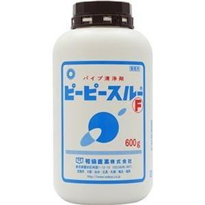その他 (まとめ)和協産業 業務用パイプ洗浄剤ピーピースルーF 600g 1個【×10セット】 ds-2307575
