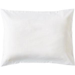 その他 (まとめ)枕カバー 封筒型 50×90cmホワイト 1セット(3枚)【×10セット】 ds-2307666