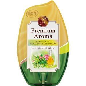 その他 (まとめ)エステー お部屋の消臭力 PremiumAroma ユーカリ&ゼラニウム 400ml 1セット(3個)【×10セット】 ds-2307737