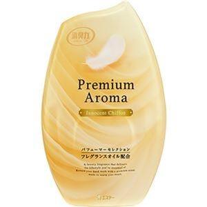 その他 (まとめ)エステー お部屋の消臭力 PremiumAroma イノセントシフォン 400ml 1セット(3個)【×10セット】 ds-2307739