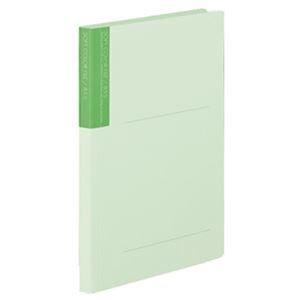 その他 (まとめ)コクヨ ソフトカラーファイル B5タテ150枚収容 背幅18mm うす緑 フ-2-6 1セット(10冊)【×10セット】 ds-2308620