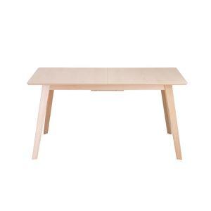 その他 伸長テーブル/ダイニングテーブル 【ナチュラル】 幅140cm 『エスカ』 【組立品】 〔リビング〕【代引不可】 ds-2318909