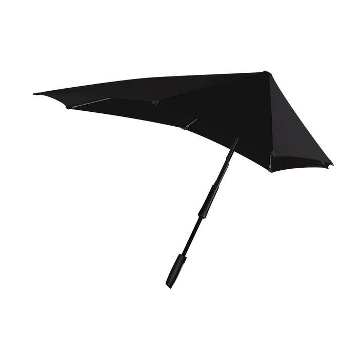SENZ(センズ) 長傘 Large ピュアブラック 手開き 晴雨兼用 HH-01218