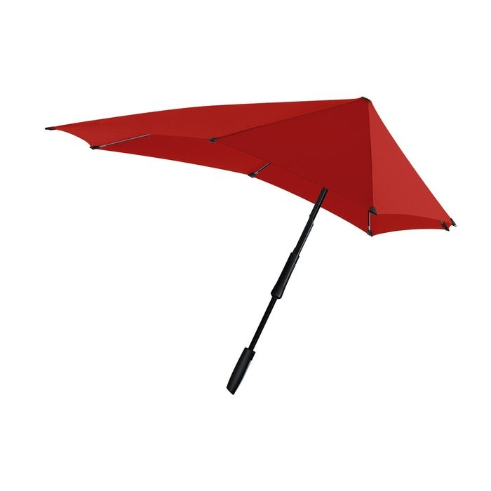 SENZ(センズ) 長傘 Large パッションレッド 手開き 晴雨兼用 HH-01220
