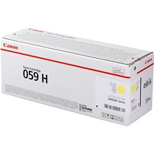 その他 キヤノン トナーカートリッジ 059HCRG-059HYEL イエロー 大容量 3624C001 1個 ds-2289823