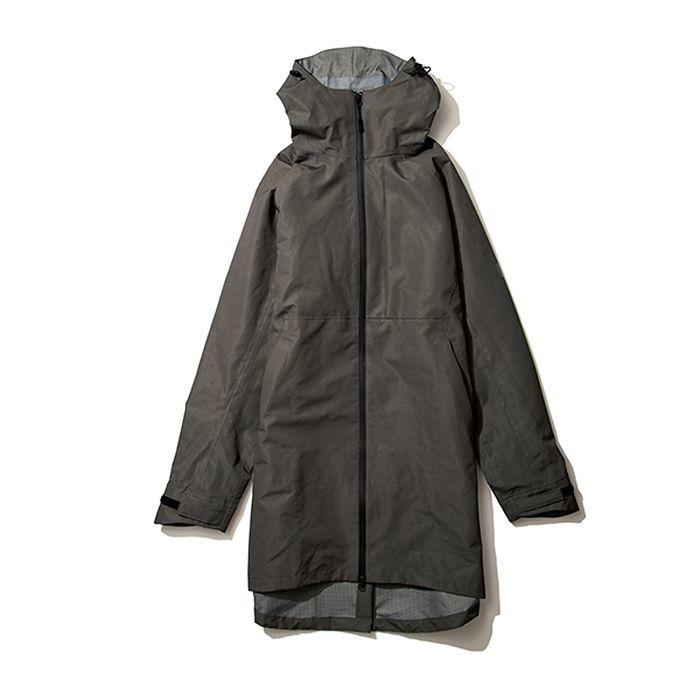 kiu(キウ) レインジャケット SLICKER RAIN LONG JACKET ダーク カーキ L HH-01688