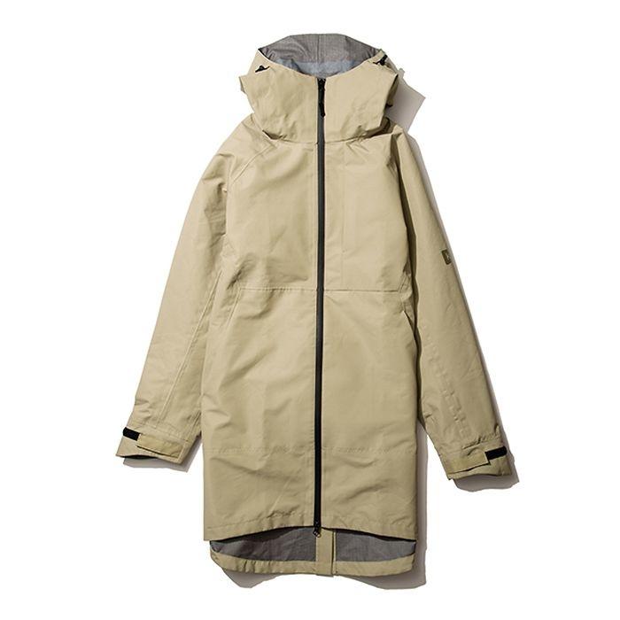 kiu(キウ) レインジャケット SLICKER RAIN LONG JACKET ベージュ L HH-01689