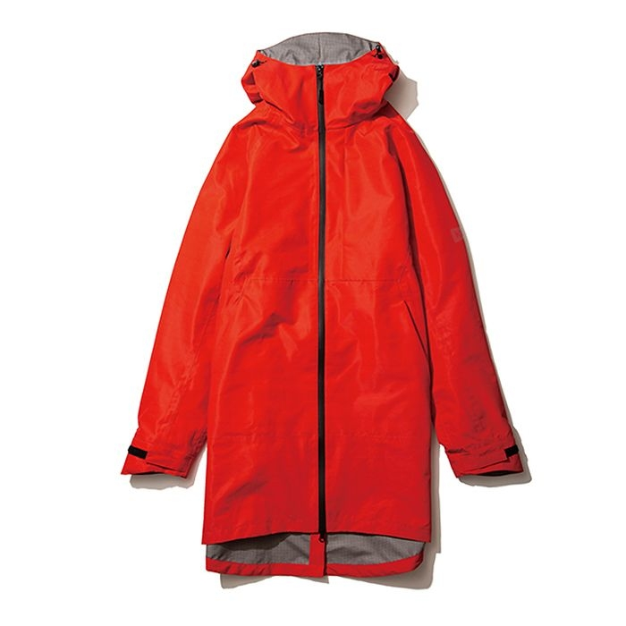 kiu(キウ) レインジャケット SLICKER RAIN LONG JACKET レッド L HH-01690