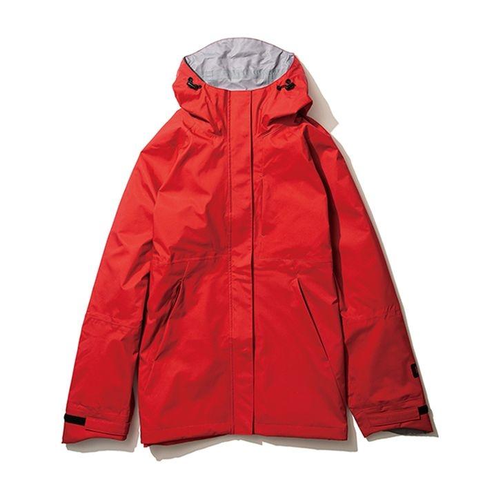kiu(キウ) レインジャケット 2WAY STRETCH RAIN JACKET<MIGHTY> レッド L HH-01721