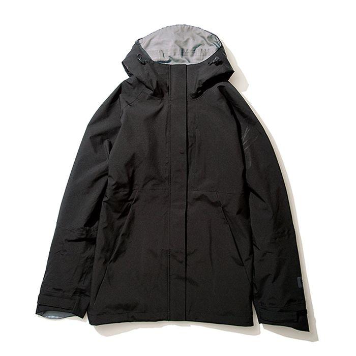 kiu(キウ) レインジャケット 2WAY STRETCH RAIN JACKET<MIGHTY> ブラック M HH-01722
