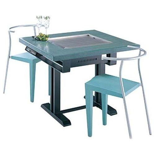 その他 電気式 鉄板焼テーブル 洋卓 YBE-12736 EBM-6026700【納期目安:1週間】
