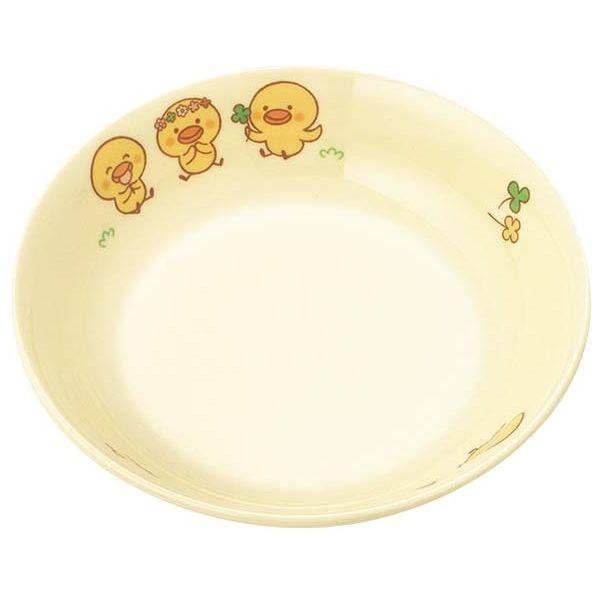 国際化工 【20個セット】メラミン 子供食器 ひよこぐみ 丸深皿 14 D52HI EBM-3952500