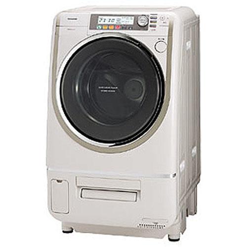 東芝 洗濯・脱水容量9kg乾燥6kgヒートポンプエアコンハイブリッド ドラム式洗濯乾燥機(左開きタイプ) Nシャンパンゴールド TW-5000VFL-N