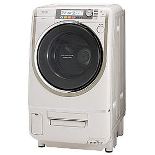 東芝 洗濯・脱水容量9kg乾燥6kgヒートポンプエアコンハイブリッド ドラム式洗濯乾燥機(右開きタイプ) Nシャンパンゴールド TW-5000VFR-N