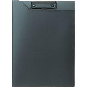 (まとめ)プロッシモ 1冊 PRORCFA4BK リサイクルレザークリップファイル ブラック 【×3セット】 その他 A4 ds-2129801
