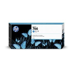 その他 HP 766 インクカートリッジ シアン 300ml P2V89A ds-2330018