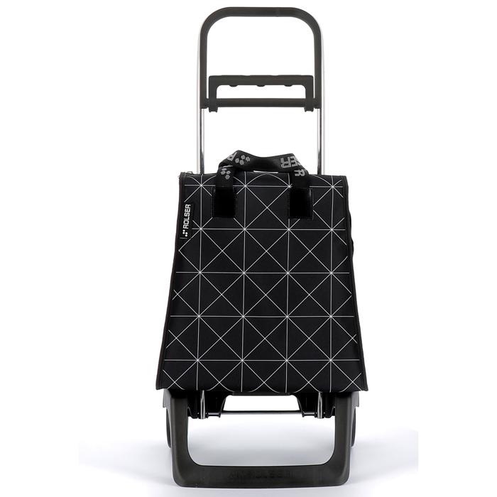 ROLSER(ロルサー) 折りたたみショッピングカート MIK スター ブラック HH-01984