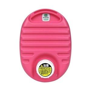 祝日 送料無料 mini 湯たんぽ ピンク 容量750cc フリースカバー付き 屋外観戦〕 携帯可 〔布団 耐熱温度:本体約110℃ ベッド ds-2341144 国内送料無料