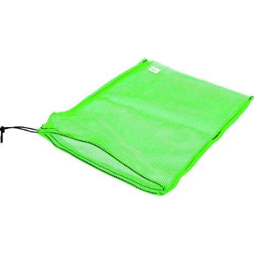 送料無料 授与 トラスコ中山 TRUSCO メッシュ袋 小 緑 39X55cm 1枚入 人気ブランド tr-2067141 目合4mm