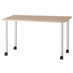 送料無料 その他 G-Style 高い素材 エコノミーキャスターテーブル 長方形 授与 1台 幅1200×奥行600mm OGRECTT-WL1260NA ナチュラル ds-2356954