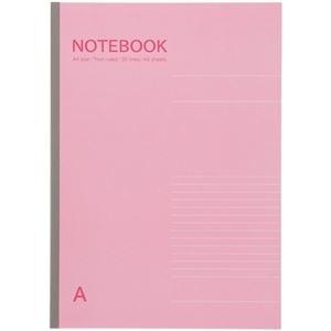 送料無料 その他 まとめ 高級な TANOSEE お値打ち価格で ノートブック A4 A罫7mm ピンク 10冊 ds-2364292 1セット ×5セット 40枚
