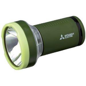 送料無料 高価値 まとめ 三菱電機 LEDランタンライト ×5セット CL-9301G ds-2380964 日本全国 送料無料 グリーン