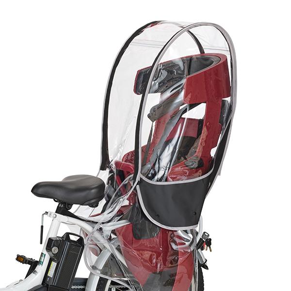 送料無料 OGK 技研 直営ストア 自転車 リアチャイルドレインカバー ブラック OTM-60408 国内正規総代理店アイテム 納期目安:1週間 VerB RCR-009