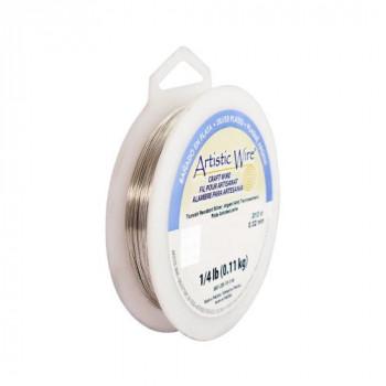 【送料無料】 Artistic Wire(アーティスティックワイヤー) ロングスプールス(業務用) ノンターニッシュシルバー 0.25mm×約240m 30 CMLF-1601590【納期目安:1週間】