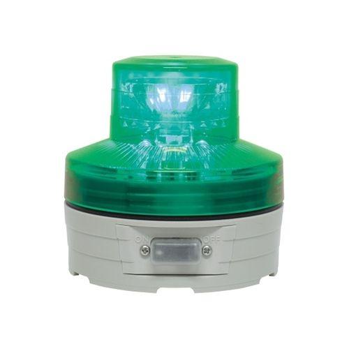 送料無料 電池式回転灯 φ76 ニコUFO 緑 激安 VL07B-003AG 61-9996-98 新入荷 流行 手動 納期目安:1週間