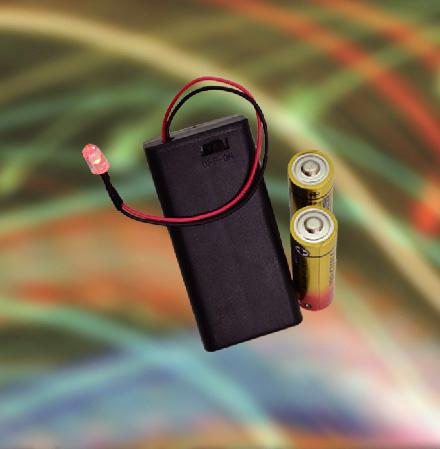 メール便送料無料! エルパ スイッチ&カバー付 電池ボックス 単3形×2本 LED付 UM-SC32NHLED /ELPA 朝日電器