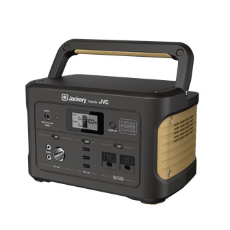 JVC ポータブル電源 スタンダードモデルタイプ 容量518Wh BN-RB5-C