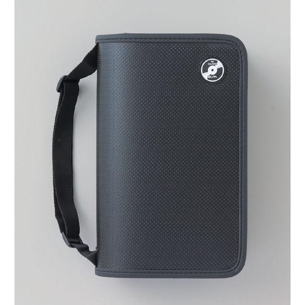 エルパ 120枚用 CD DVDファイルCDKP-120 (BK) /飛び出し防止ストッパー付ポケット採用 /ELPA 朝日電器 アウトレット