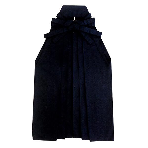 無地袴 塩瀬(うまのり) 黒 =舞踊、民踊、日本舞踊、新舞踊、演武=