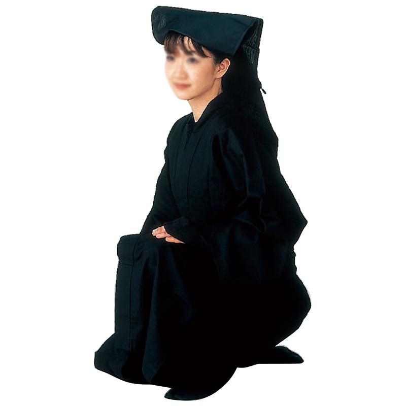 黒子衣装(黒衣) M・Lサイズ =舞台 イベント向本格衣装=