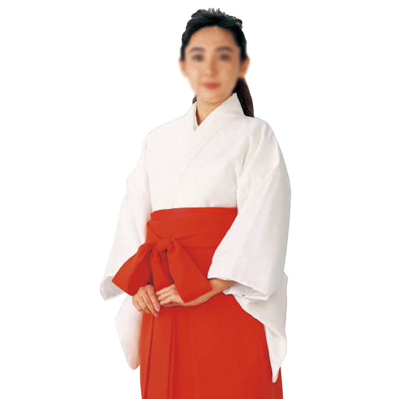 巫女用白衣 合物(3シーズン) =神社、神職、衣装=