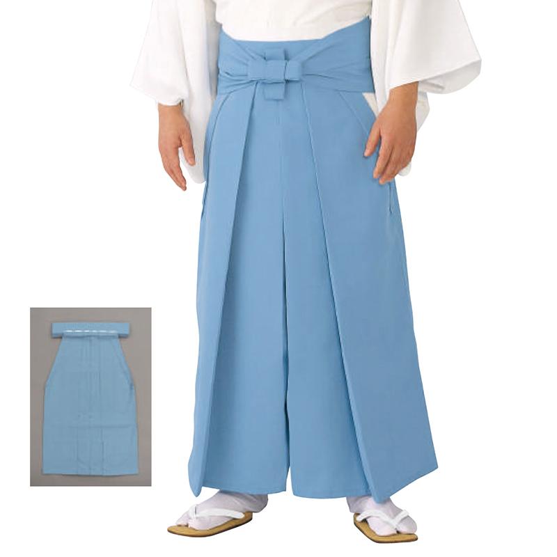 神官用袴(あさぎ) 合物(3シーズン) =神社、神職、衣装、宮司=