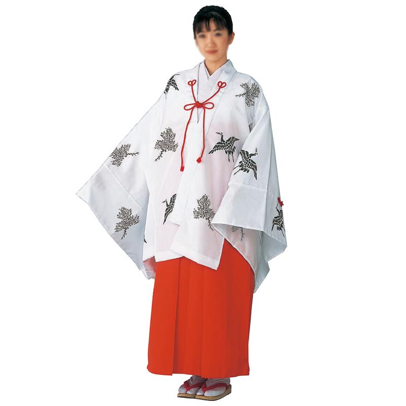 千早(柄有) =神社、巫女、衣装=