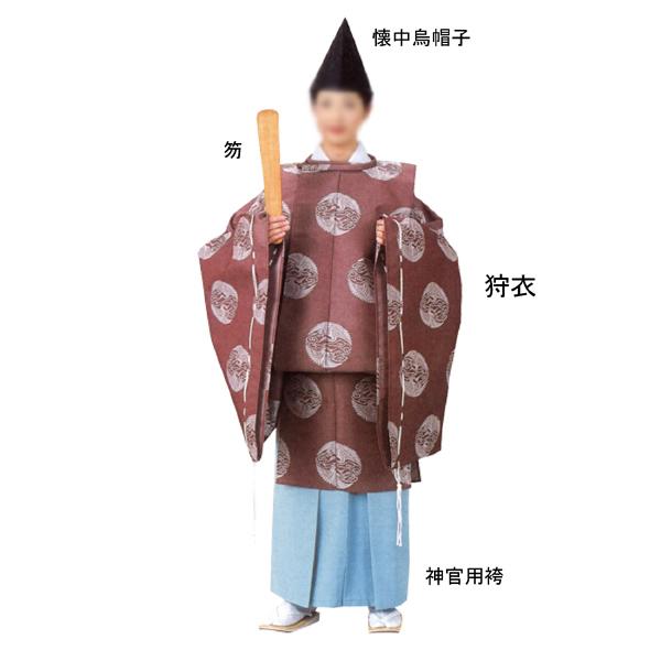 狩衣(かりぎぬ) =神社、舞台、神楽、神主、宮司=